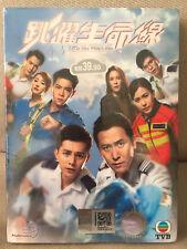 DVD HK TVB Drama Life On Time Line 跳躍生命線 Eps1-25END All Region FREE SHIP