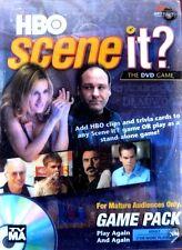 HBO SCENE IT? DVD Trivia Board Game Pack Sopranos Sex in City Band of Bros *New!