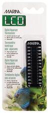 Hagen Marina MINERVA Fish Aquarium LCD Thermometer 66-86 F, 19-30 C