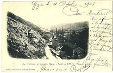 CPA 39 Jura Cousance env. Vallée de Cizia