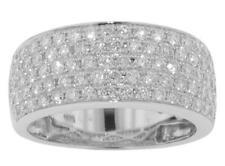 Diamond Anniversary Band Ring in Platinum 1.75 Ct. Tw Micro Pave Round