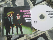 Chauffeur Driven Aviator Leather Jacket CDr DirtE Records Di7 PROMO UK CD Single