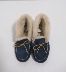 Ugg Women's Alena Suede Slipper Midnight Blue Size 11 USA