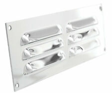 "Xpelair Gas Louvre Air Vent Grille Stainless Steel 9""x3"" Surface Mount"