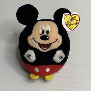 Ty Beanie Ballz Disney Mickey Toy Gift NWT