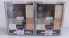 2 Pack NYC Individual Eyes Created For All  Eyes #944 Smokey Charcoals !