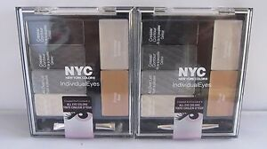 Two Pack NYC Individual Eyes Created For All Eyes 944 Smokey Charcoals