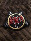 Slayer -pentagram Logo(new/unused) Iron-on/sew-on Patch