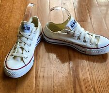 Converse Chuck Taylor All Star Canvas Low Top M1965 White Sneaker Men 4 Women 6