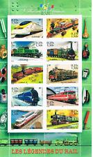 """Bloc, Feuillet 2001  Neuf """" Les légendes du rail """""""