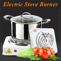 1000W Iron Burner Electric Stove Hot Plate Portable Kitchen Cooker Coffee