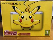Nintendo 3DS XL Limited Edition Pikachu - NEW-SEALED