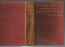 W M THACKERAY Contributions to PUNCH Spielmann 1899 Hc Bibliography 1843-48 RARE