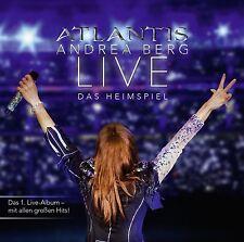 ANDREA BERG - ATLANTIS-LIVE DAS HEIMSPIEL 2 CD NEU