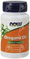 Now Foods Oregano Oil 181mg x90caps - ANTI-FUNGAL / IMMUNE SUPPORT / INFECTIONS