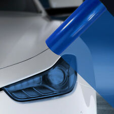 A4 Blue Car Headlight Fog Light Tint Film