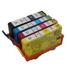4PC Ink Set Cartridge For HP 364XL Black/Cyan/Magenta/Yellow Ink Non-OEM F7