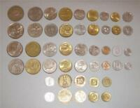 Complete coin set of Israel Lira, Old and New Sheqel - 23 Сoins