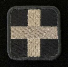 """BuckUp Tactical Morale Patch Hook Medic 2"""" Sized ACU White"""