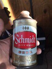Very Nice Schmidt City Club Cone Top Beer Can St Paul Mn Minnesota Minn Jacob