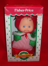 1992 Fisher Price Puffalump Christmas Doll