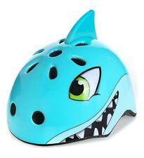 Kids Bike Helmet Sport Cycling/Skateboard/Scooter/Skating/ Blue Shark Medium New