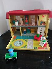 Vintage 1976 Fisher Price Little People Play Family Children's Hospital #931 70s