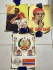 soviet posters lot of 3