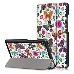 For Lenovo Tab M7 3rd Gen Tablet TB-7306F Kids Patterns Leather Stand Case Cover
