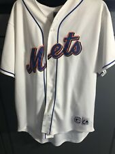 Carlos Beltran New York Mets Home Stitched Majestic MLB Baseball Jersey L