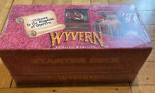 Wyvern Limited Edition Starter Deck Box 12 Decks FACTORY SEALED!!