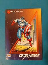 1992 Impel Marvel Universe Series 3 Prototypes Captain America #37 0p3