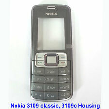 100% Genuine Nokia 3109 Classic 3109C Front Screen Lens Panel Fascia Housing