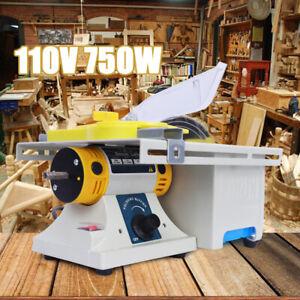 Mini Table Saw Woodworking DIY Hobby Model Cutting Polishing Bench Saw Househol