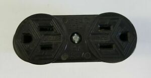 """CROUSE HINDS 1784 2784 15A 125V 1/2"""" FORM 7 CONDULET RECEPTACLE"""