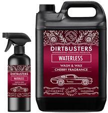Premium Cherry Waterless Car Wash and Wax Cleaner Polish 5.5 L