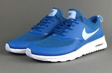 Nike Air Max Thea Running Brigade Blue - White - Porpoise New Size 6 Womens