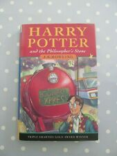 HARRY POTTER AND THE PHILOSOPHER'S STONE JK ROWLING BLOOMSBURY HB 1st / 24th IMP