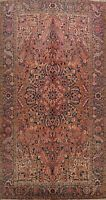 Vintage Geometric Heriz Handmade Traditional Area Rug Wool Oriental Carpet 8x12