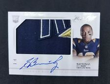 2013 National Treasures Hats Off Rookie Flawless Auto Stedman Bailey 3/6 $350+