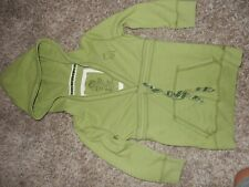 Vintage XS ABERCROMBIE & FITCH V-Neck Hoodie Hooded Pullover Sweatshirt
