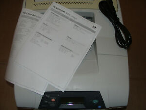 🔥HP LaserJet 4300N Laser Printer q2432a 💯