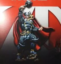 35mm Resin Figure Model Kit God of Thunder Thor Miniatures Unpainted Unassambled