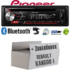Autoradio Radio Pioneer pour Renault Kangoo 1 Bluetooth USB MP3 CD Montage