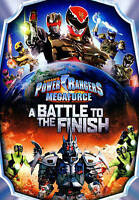 Power Rangers Megaforce: A Battle to the Finish (DVD, 2014) USED FREE S/H