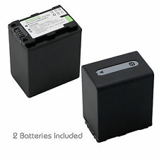 2x Kastar Battery for Sony NP-FH100 HDR-XR500 HDR-XR520