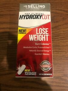 1 Of New Hydroxycut Pro Clinical Dietary Supplement Lose Weight 72 CapsExp: 2022