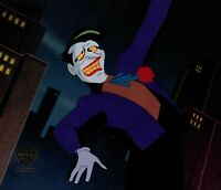 Batman The Animated Series The Joker Production Animation Cel Warner Bros 289