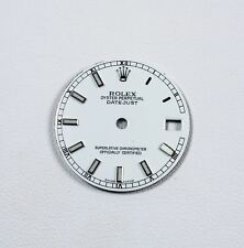 """Quadrante bianco per Rolex modello """"Datejust"""" mm31 ref 78240"""