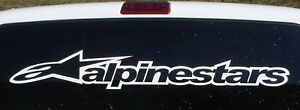Alpinestars windshield banner decal